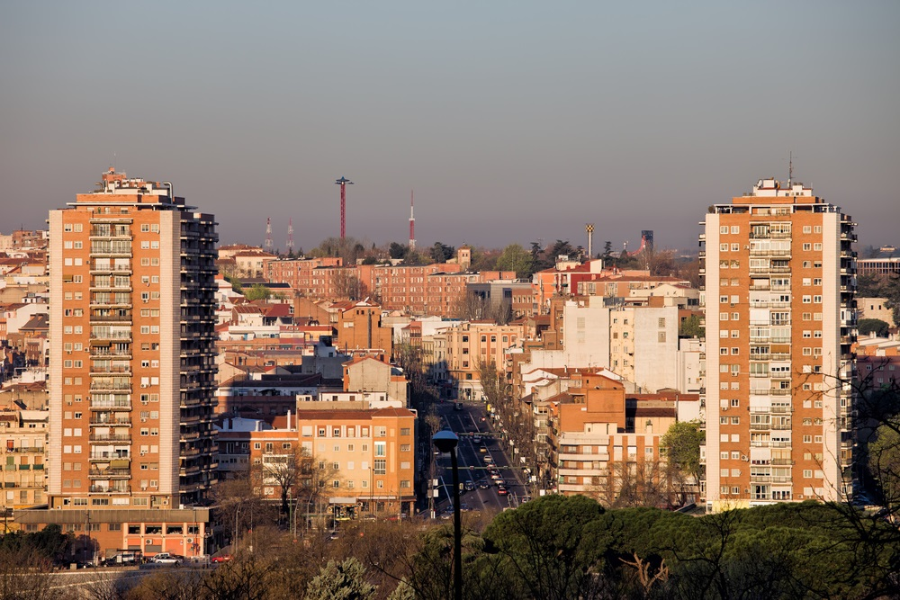 City of Madrid Cityscape